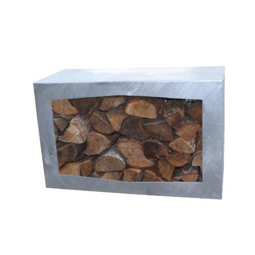 GardenMaxX Woodbox Zinc